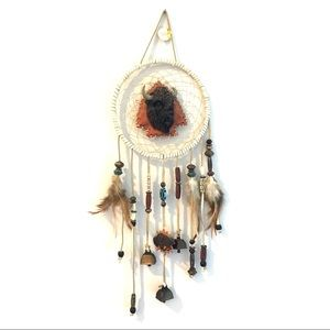 Other - Buffalo arrowhead dream catcher with bells